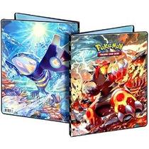 Ultra-pro Pokemon Card Carpeta Con Mega Groudon Y Kyogre Meg
