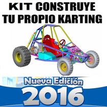 Aprende Diseño Construye Carro Buggy Karting Go Kart Arenero
