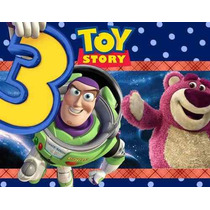 Kit Imprimible Toy Story 3 Diseñá Tarjetas , Cumples Y Mas#2