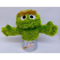 Peluche Muppet Oscar Plaza Sésamo Original Títere Regalo