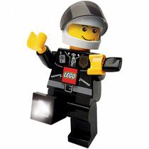 Nuevo Modelo Lampara Lego Led Dynamo Police Torch Jumbo Sta