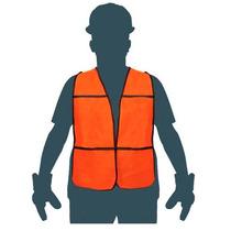 Chaleco Industrial Alta Visibilidad Dia Naranja Pretul 21023