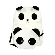 Mochila Y Bolsa En Forma De Panda, Combo (envio Gratis)