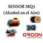 Sensor Mq3 Alcohol En El Aire Para Arduino