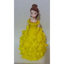 Hermosa Figura Para Pastel Princesa Bella Disney!!