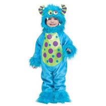 Disfraz De Monster Monstruo Para Bebes Y Niños, Envio Gratis