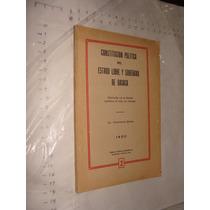 Libro Año 1950 , Constitucion Politica Del Estado Libre Y So