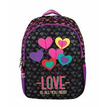 Mochila Escolar Back Pack Niña Happy Girl Chenson Hg60567-3