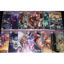 Transformers More Than Meets Eye (1 Al 13, Annual) Completa