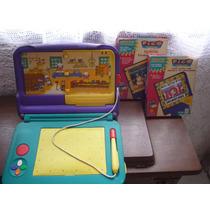Consola De Video Interactiva Pico Marca Sega + 3 Juegos