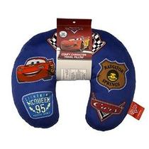 Disney / Pixar Cars Badges Viaje Almohada Para Cuello