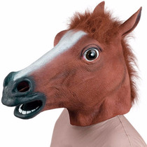 Mascara Cabeza Caballo Tipo Harlem Shake Creepy Horse 1390