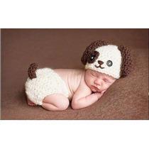 Pañalero Y Gorro Tejidos Crochet Bebes Regalo Babyshower Op4