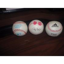 Lote De 3 Pelotas De Beisbol