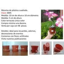 Macetas De Plástico Decorativas