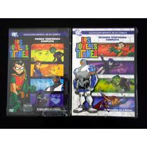 Jovenes Titanes - Dvd - Temporada 1 Y 2 - Teen Titans