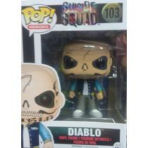 Figura Funko Pop Diablo De La Pelicula El Escuadrón Suicida