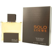 Perfume Solo Loewe For Men Agua De Colonia Vaporizador 4.3