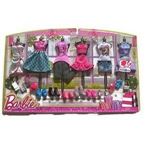 Barbie Doll Ropa Y Juego De Accesorios