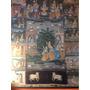 Pintura Antigua Lienzo De La India, Ritual De Matrimonio