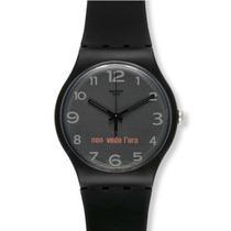 Reloj Swatch Suob107 Negro
