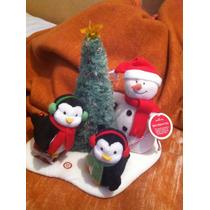 Pinguinos Y Mono De Nieve Musicales De Navidad