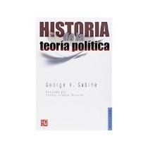 Libro Historia De La Teoria Politica *cj