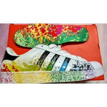 Adidas Súper Star Color Original Nba Kobe Lebron Yeezy Sb
