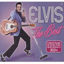 The Best / Elvis Presley / 3 Discos Cd 50 Canciones Remaster