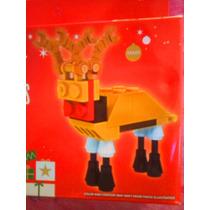 Figura De Reno De Navidad Armable De Cubitos