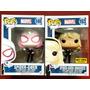 Envio Inmediato Funko Pop Spider Gwen Regular Y Exclusiva