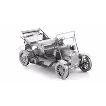 Rompecabezas Mini 3d Metalico Genial Carro Clasico