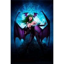 Morrigan Poster 30x46cm Videojuego Capcom Darkstalkers