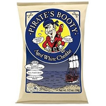 Botín Al Horno Arroz Del Pirata Y Maíz Puffs 0,5 Oz Gluten M