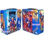 Rompecabezas 500 Pzas Superman Dc Comics Lonchera Metalica