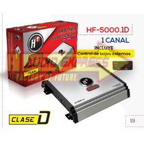 Amplificador 1 Canal C/control De Bajos Externos Hf5000.1d