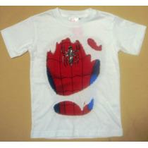 Playera Infantil Spiderman, Hombre Araña, Marvel