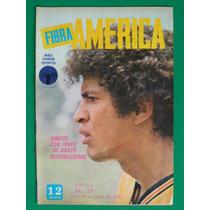 1980 Vinicio Bravo Revista Fibra America Aguilas Futbol