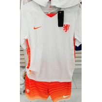 Uniformes De Futbol Holanda Jersey Short Estampado