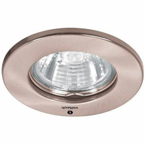 Luminario Empotrable Fijo Satin Foco Mr16 50w Voltech 46614
