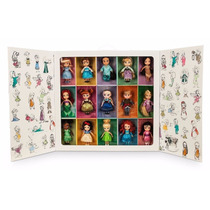 Set Disney Store Animators De 15 Mini Princesas Oferta Unica