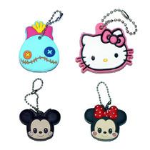 Llavero / Funda De Goma Para Llave 14 Diseños Kitty Minnie
