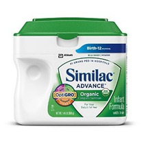 Infantil Similac Advance Orgánica Fórmula Con Hierro En Polv