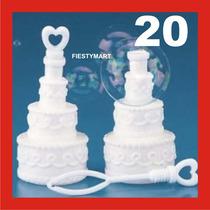 20 Burbujeros Boda Xv Bautizo Recuerdo Fiesta Pastel Gel