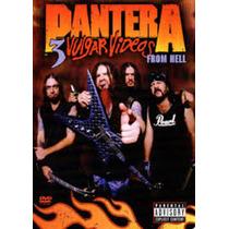Pantera Vulgar Videos From Hell Dvd Nuevo