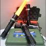 Kit Lámpara Led Táctica Swat Cree 2000 Lumens Con Cono Señal