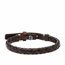 Fossil Casual Vintage Leather Bracelet