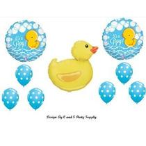 Es Un Muchacho De Caucho Ducky Baby Shower Globos Decoracion
