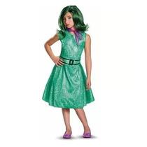 Disfraz Talla 7 A 8 Años Inside Out Desagrado Intensamente