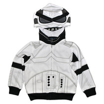 Star Wars Sudadera Chamarra Niño Stormtrooper Disney T-3
